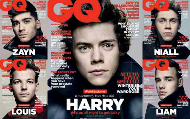 one direction gq cover