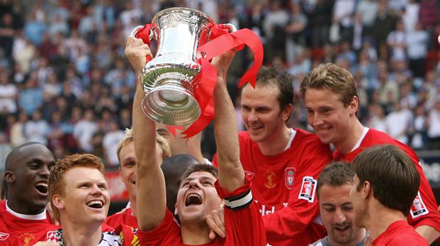 стивън джерард, купа на англия, ливърпул - уест хем 2006
