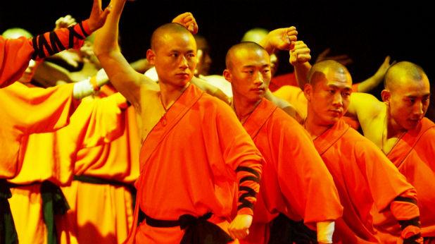 шаолин монаси