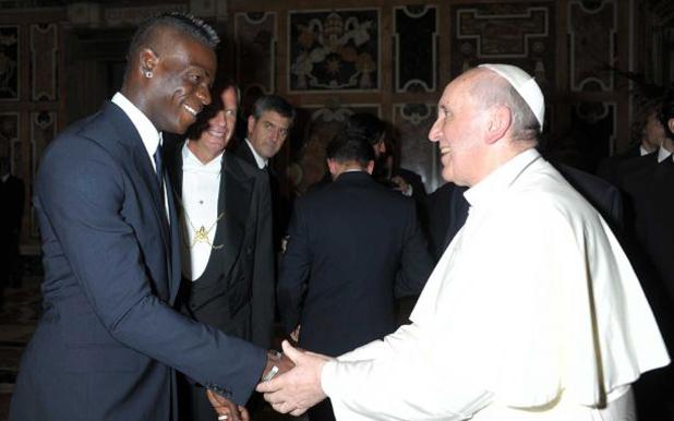 балотели при папа франциск