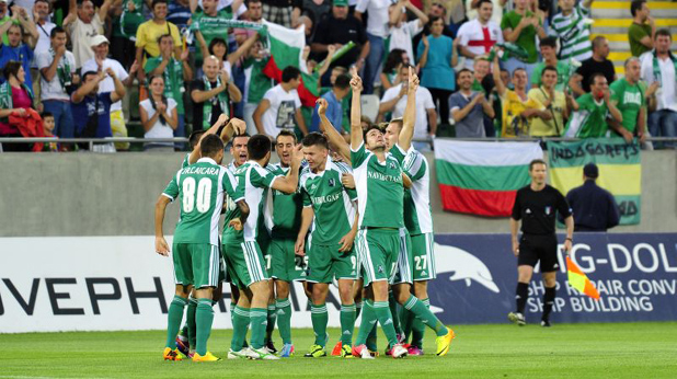 лудогорец - партизан 2:1, шампионска лига