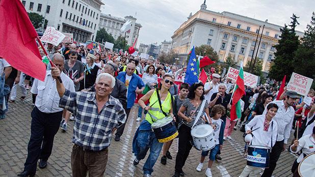 протест, 9 септември