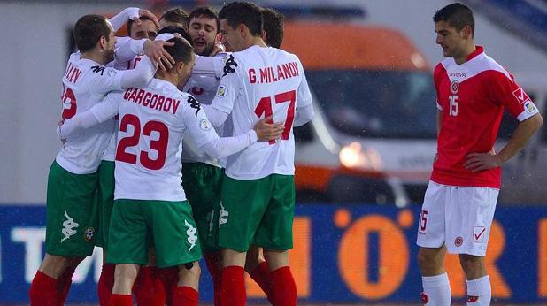 българия - малта 6-0, световна квалификация