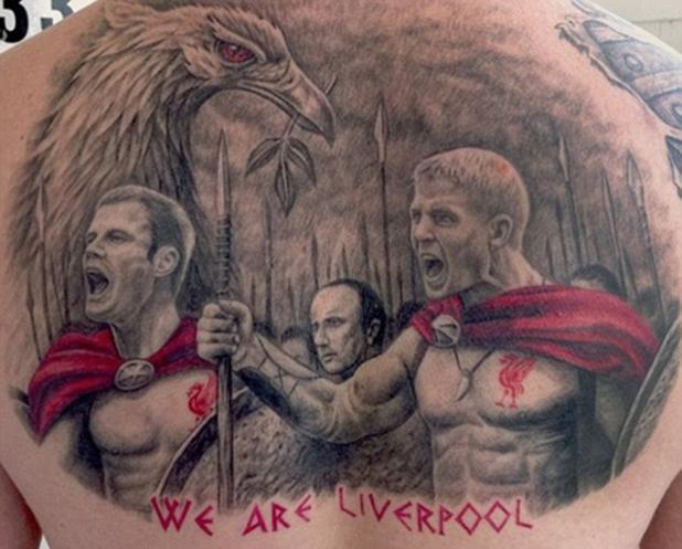 football tattoos