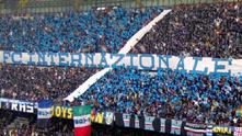 Хореографията на Интер срещу Ювентус