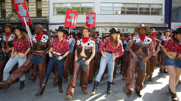 каубойски протест