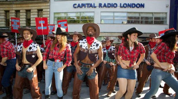 каубойски протест main