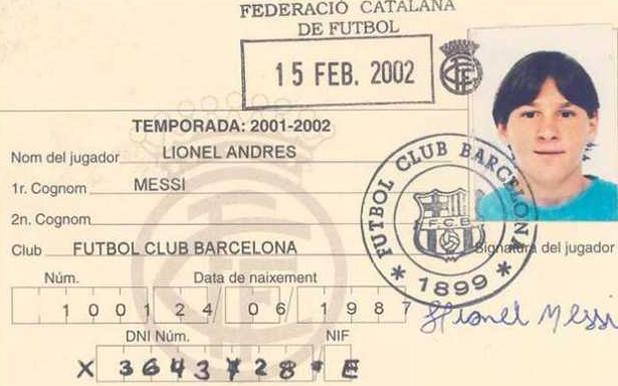 Картотеката на Лео Меси, 2002 г.