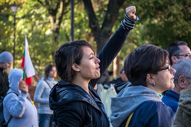 20 септември протест пред НС
