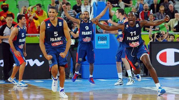 Франция бие Испания, Евро 2013 по баскетбол