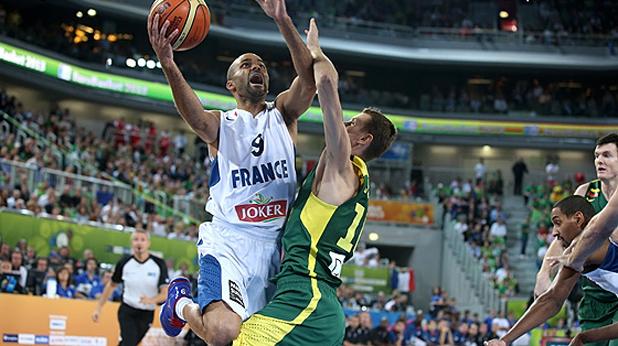 Тони Паркър пробива, финал Франция - Литва на Евро 2013