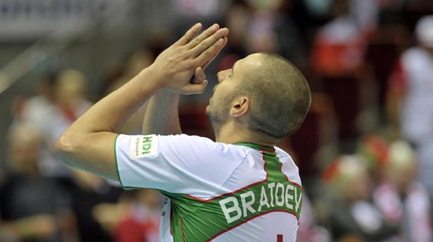 Георги Братоев, България - Сърбия 0:3, Евро 2013