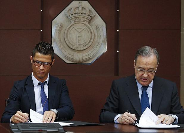 Роналдо и Перес подписват най-скъпия договор във футбола