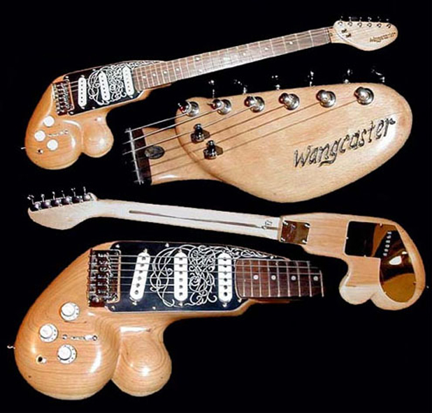 weird guitars