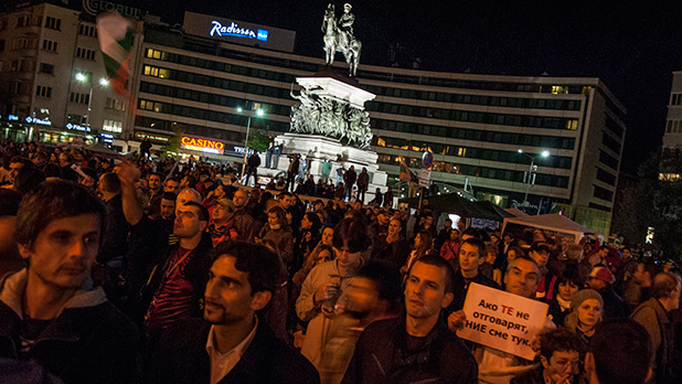 протест, 8 октомври