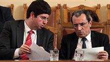 Петър Чобанов и Пламен Орешарски