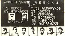 левски - цска 7-2