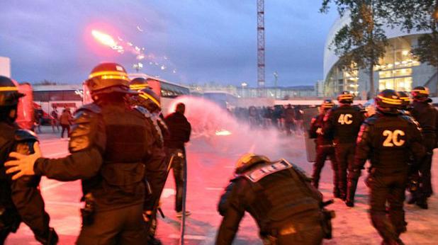 Факли и сблъсъци преди Марсилия - Наполи