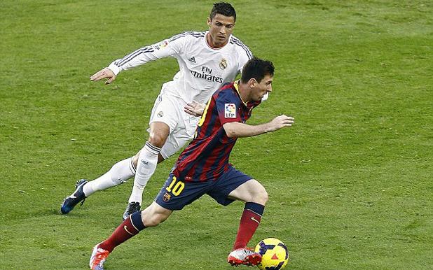 Роналдо и Меси, Барса - Реал 2-1