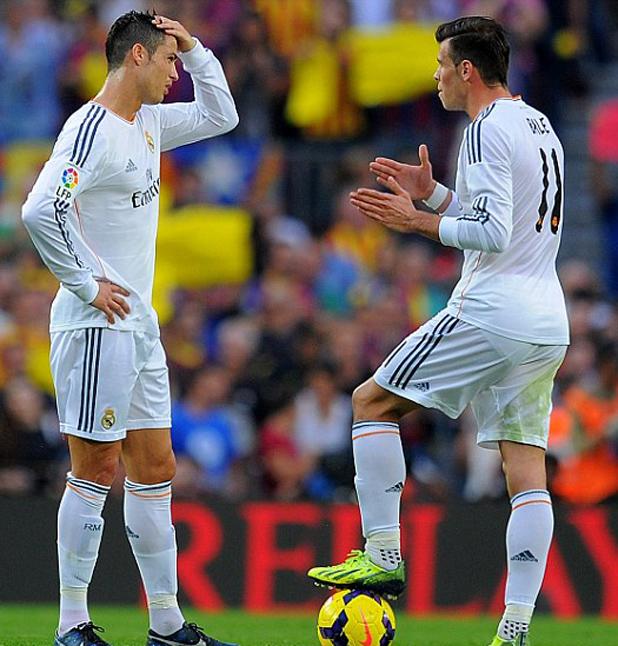 Роналдо и Бейл, Барса - Реал 2-1