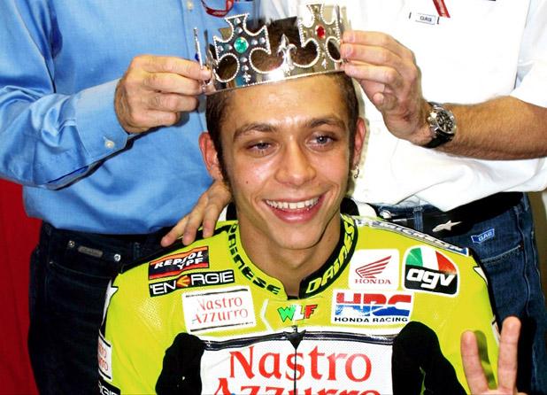 Валентино Роси - кралят на пистата