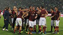 рома радост след 1-0 като гост на удинезе - 9-та поредна през 2013