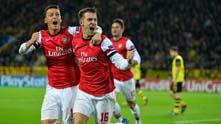 Арсенал победи в Дортмунд