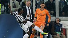 кристиано роналдо срещу асамоа, ювентус - реал 2-2, ноември 2013