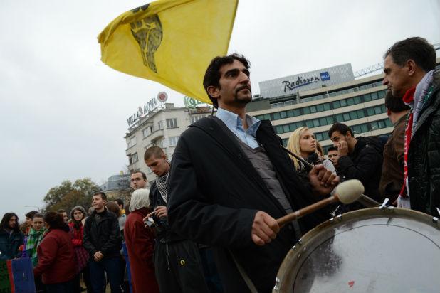 протест, 12 ноември