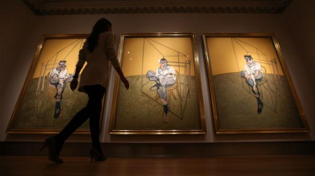 картина Три етюда на Лушън Фройд