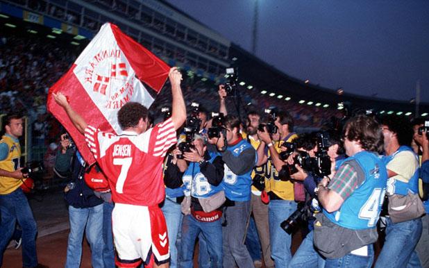 Дания е шампион на Европа, 1992