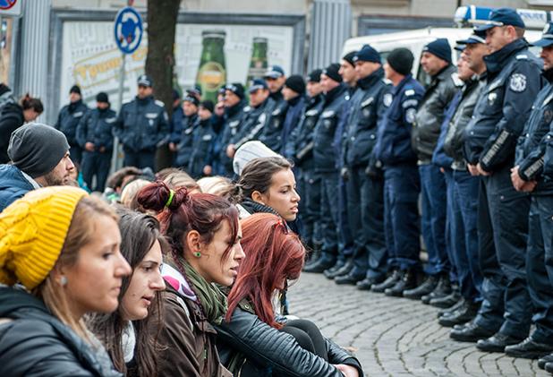 15 ноември,протести,студенти