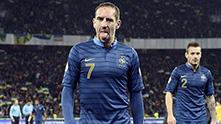рибери - украйна - франция 2-0, бараж, ноември 2013