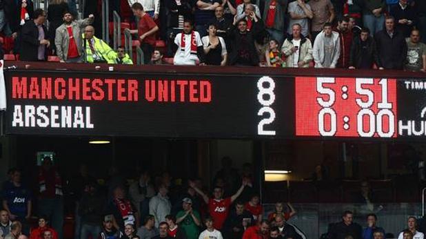 Юнайтед - Арсенал 8:2, 2011 г.