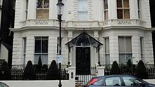 домът на бекъм в лондон