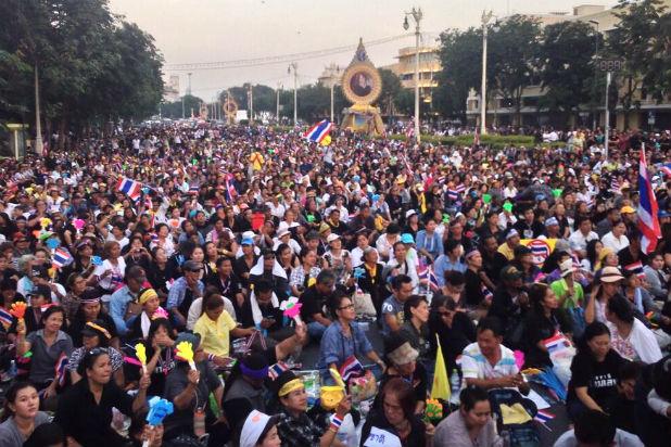 Протест в Тайланд