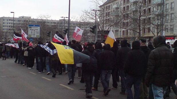 Шествие на НДП в Германия