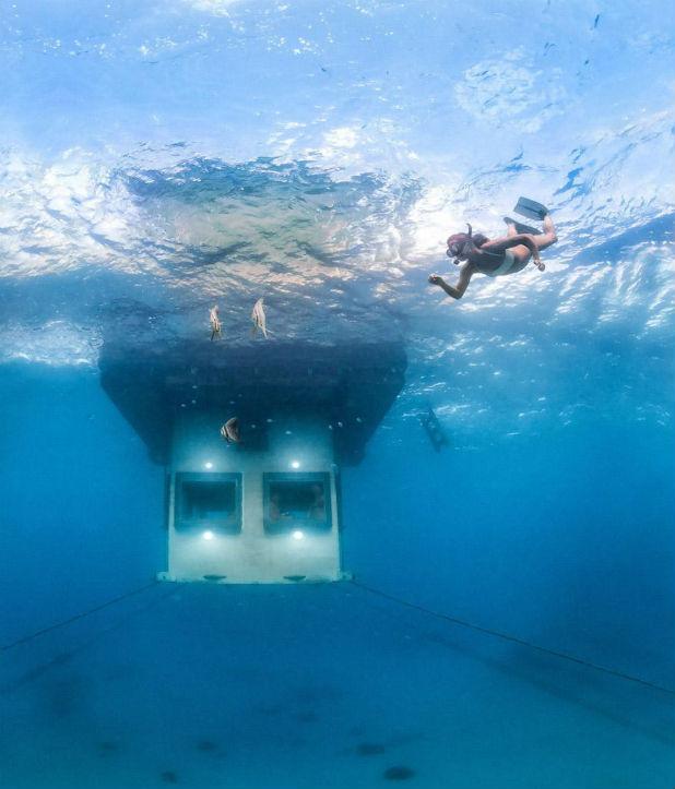 подводна стая