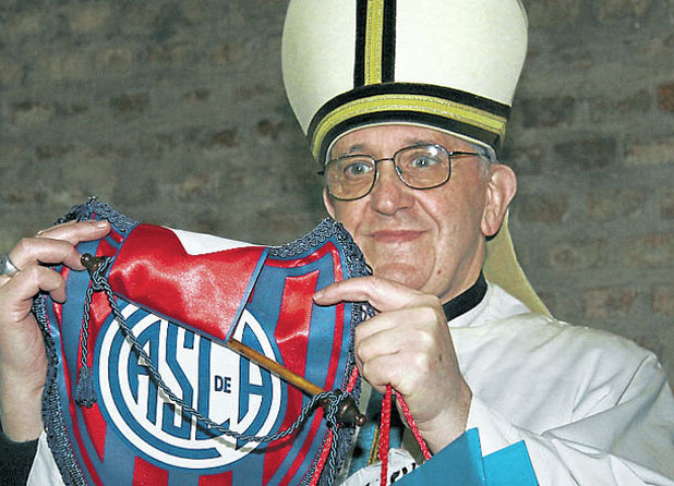 Папа Франциск е от Сан Лоренсо