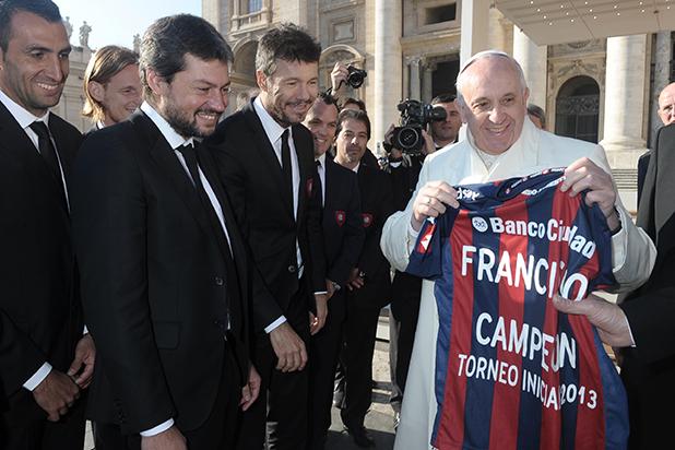 папата екип на сан лоренсо след титлата