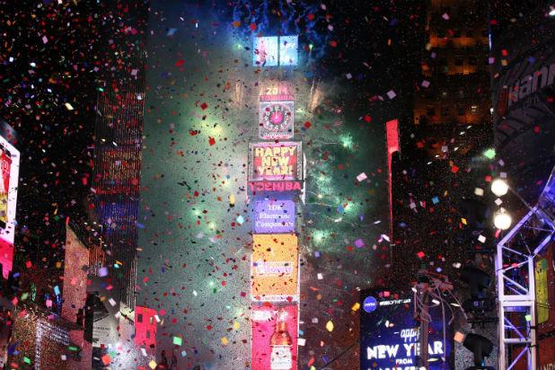 нова година таймс скуеър