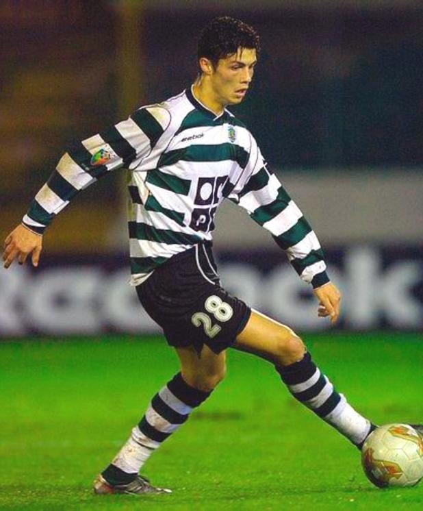 Роналдо, първи гол