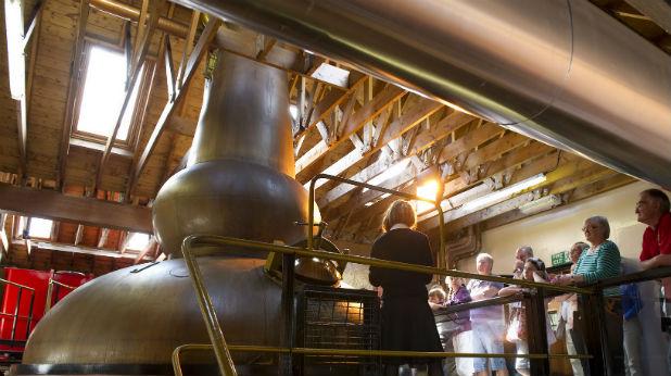 уиски, дестилерна, Шотландия