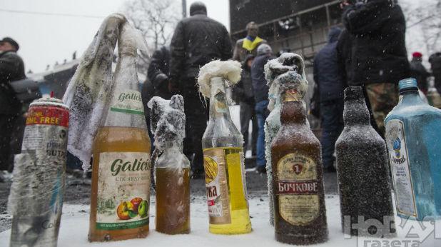 коктейли молотов, Киев