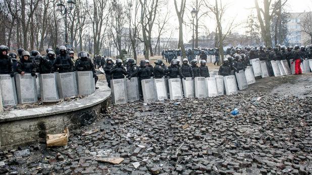 камъни, Киев, полиция