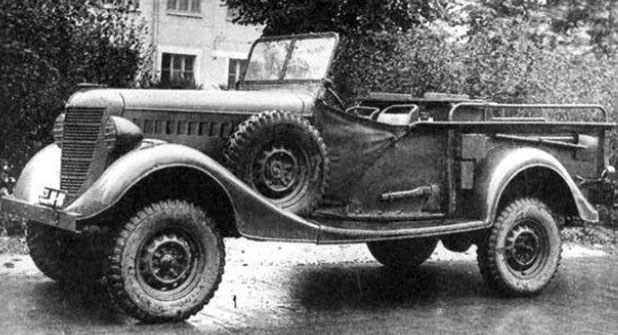 фронтови автомобили