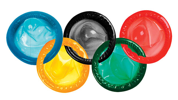 кондоми, олимпиада