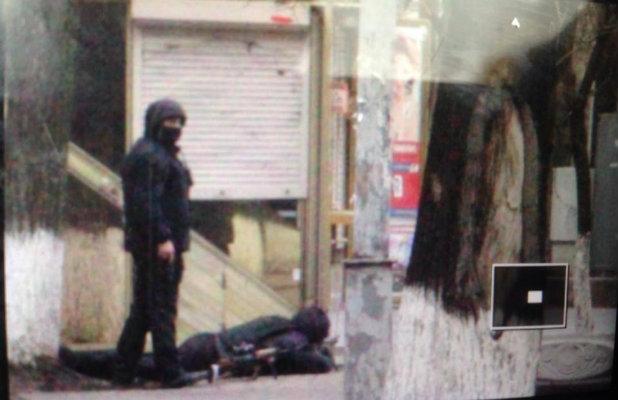 Снайпер в Киев