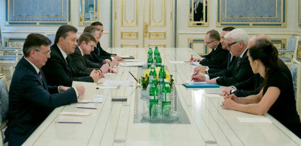 Преговори Украйна