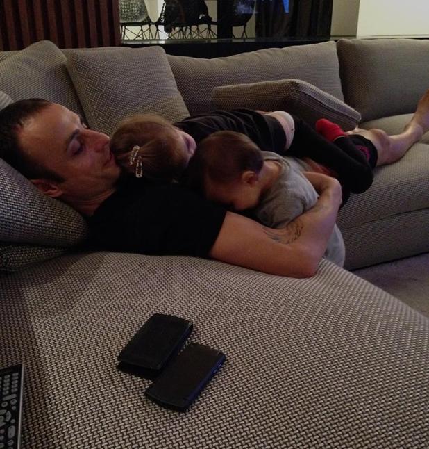 Бербатов с дъщерите му